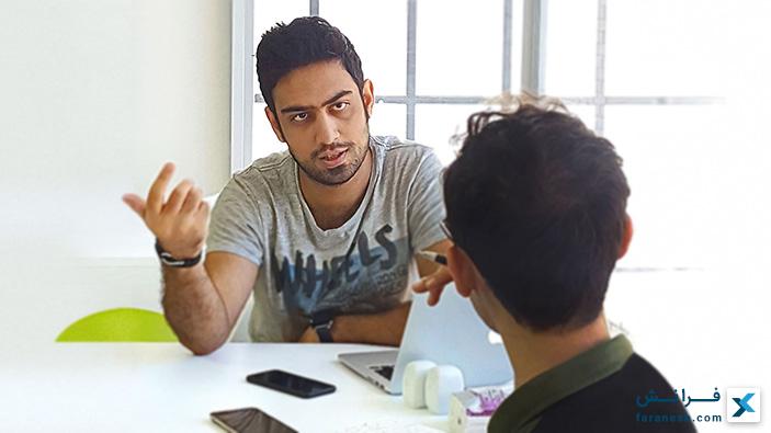 مصاحبه با سعید فداکار