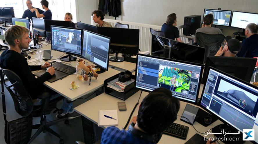 بازار کار نرم افزار Maya