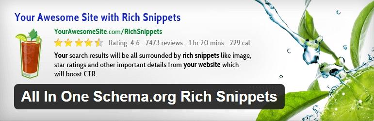 افزونه وردپرس All In One Schema.org Rich Snippets