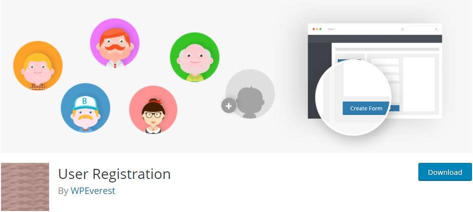 افزونه User Registration وردپرس