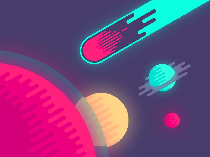 تصویر فضایی - space illustration