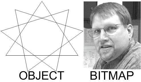 آموزش Corel Draw - اشیاء و بیتمپها