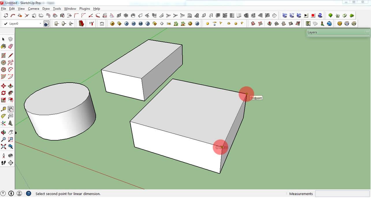 Dimension Tools در اسکچاپ