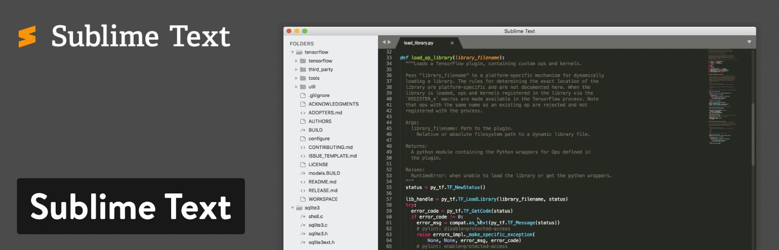 ویرایشگر کد - Sublime text