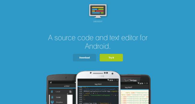 ویرایشگر کد - DroidEdit Pro