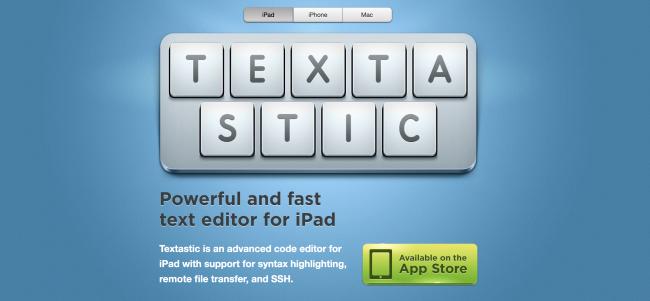 ادیتور کد - Textastic