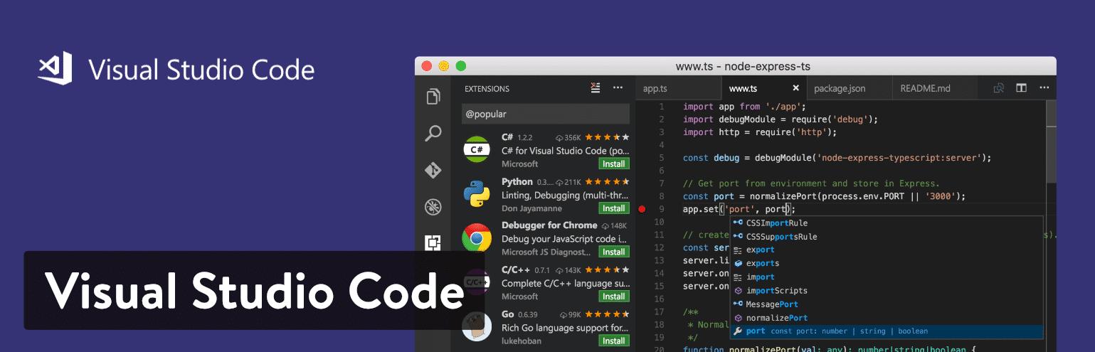 ادیتور کد - Visual Studio Code