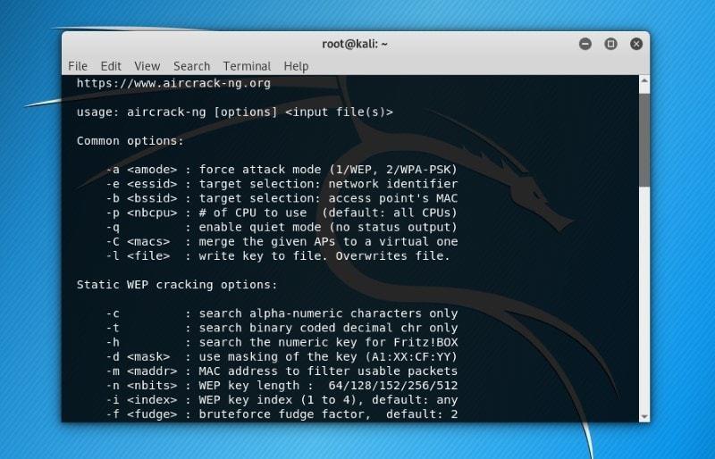 Aircrack-ng ارزیابی امنیت شبکه Wi-Fi