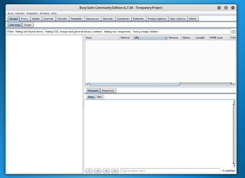Burp Suite Scanner ابزار برای بررسی امنیت وب