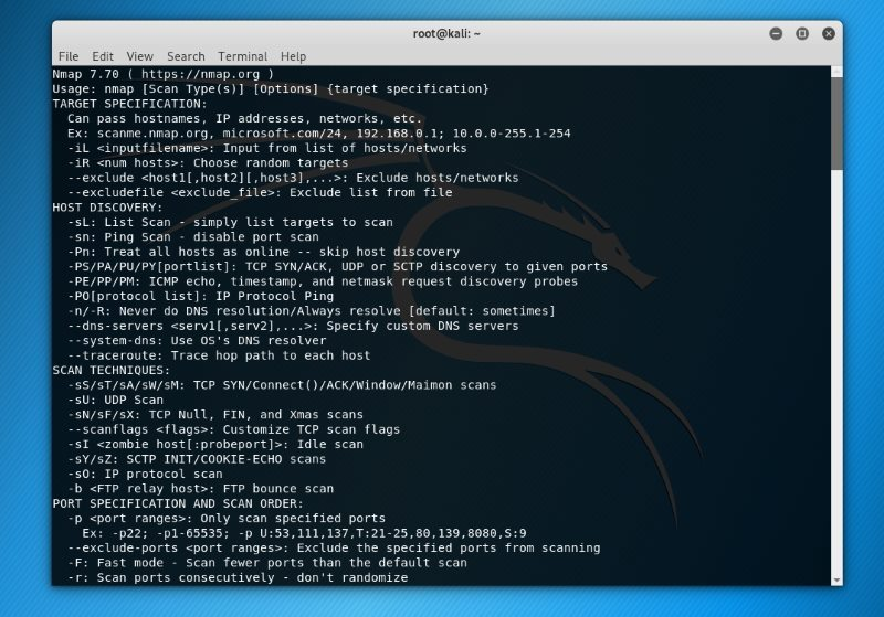 Nmap یکی از مشهورترین ابزارهای لینوکس