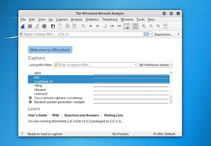 Wireshark ابزار آنالیز شبکه