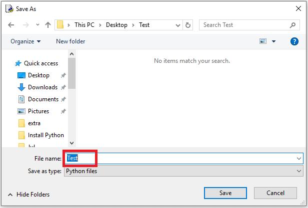 ذخیره کردن فایل