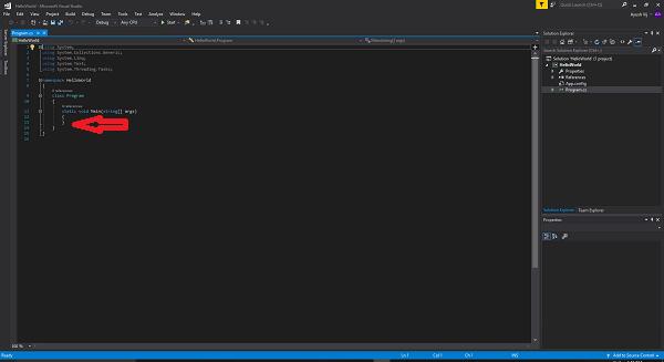 پروژهی C# Console App