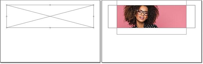 مثالی از کار با ابزار Frame